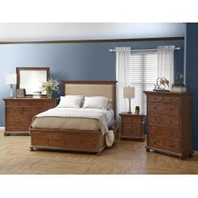 Geneva Hills Queen Upholstered Headboard