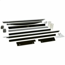 "18"" 50# Ice Maker Trim Kit - Black - Other"