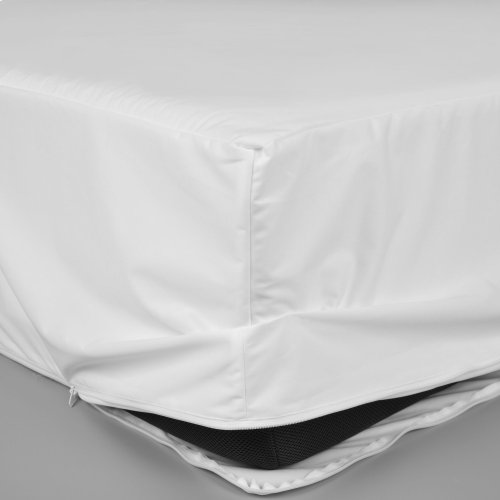 Sleep Calm 9-Inch Mattress Encasement with Stain and Bed Bug Defense, Full