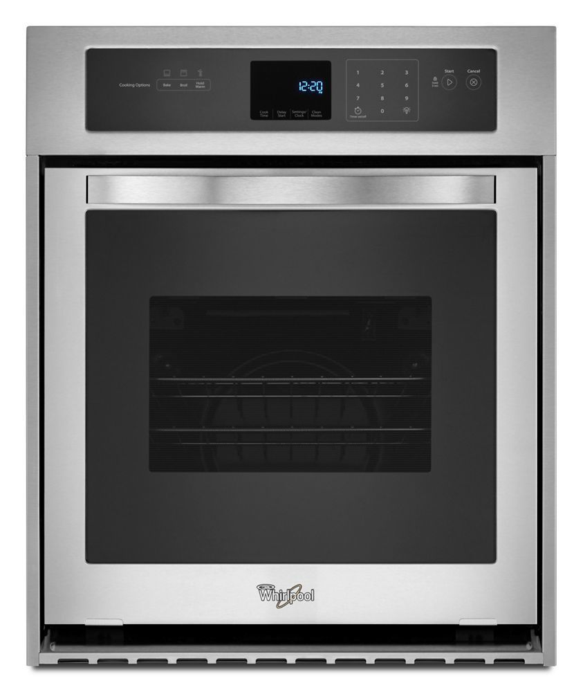 Whirlpool3.1 Cu. Ft. Single Wall Oven With High-Heat Self-Cleaning System