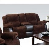 Choco Loveseat W/console Product Image