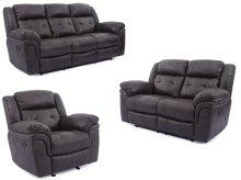 5156 Denali Recling Sofa- Grey