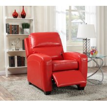 Yukon Red Push-Back Recliner Chair