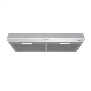 BroanSahale 30-inch 250 CFM Stainless Steel Range Hood with LED light