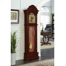 Traditional Brown Red Grandfather Clock Product Image