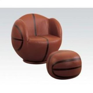 Basketball Chair & Ottoman