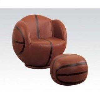 Basketball Chair & Ottoman