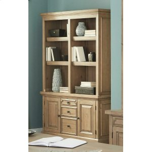 CoasterFlorence Rustic Double Bookcase