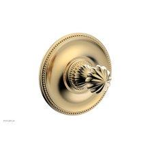 GEORGIAN & BARCELONA Pressure Balance Shower Plate & Handle Trim PB3361TO - Satin Brass
