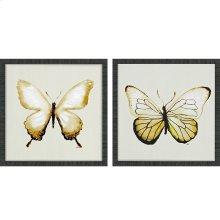 Butterfly of Gold II Pk/2