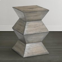 Western Brown Compass Side Table