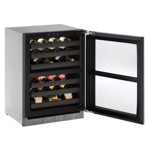"U-Line24"" Dual-zone Wine Refrigerator With Integrated Frame Finish (230 V/50 Hz Volts /50 Hz Hz)"