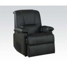Kit-black Pu Recliner W/functs