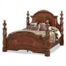 Cal King Low Poster Bed Product Image