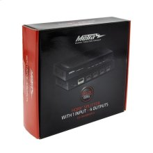 HDMI® Splitter With 1 Input and 4 Outputs