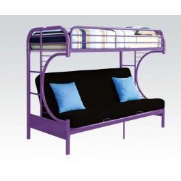 Purple T/f Futon Bunkbed
