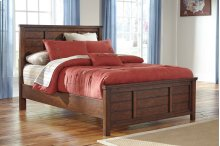 Ladiville - Rustic Brown 2 Piece Bed Set (Full)