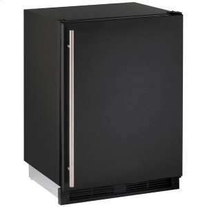 "U-Line24"" Refrigerator/freezer With Black Solid Finish (115 V/60 Hz Volts /60 Hz Hz)"