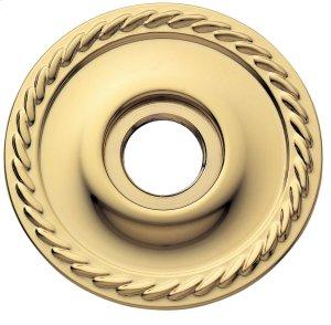 Lifetime Polished Brass 5004 Estate Rose Product Image