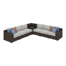 Alta Grande - Beige/Brown 4 Piece Patio Set