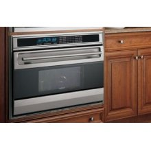 """SO36UP 36"""" Single Oven L Series - Platinum Stainless Unframed"""