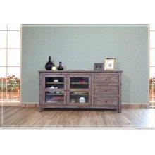 """70"""" TV Stand w/3 Drawers, 2 door w/2 shelves"""