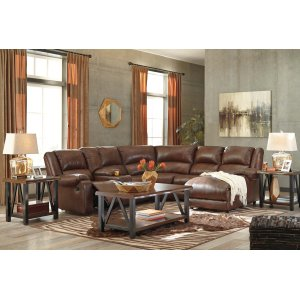 Ashley Furniture Billwedge - Canyon 5 Piece Sectional