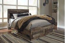 Derekson - Multi Gray 4 Piece Bed Set (Queen)