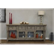 "80"" TV Stand 4 Drawer, 2 Door Product Image"