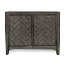 Gramercy Platinum 2 Door Accent Cabinet