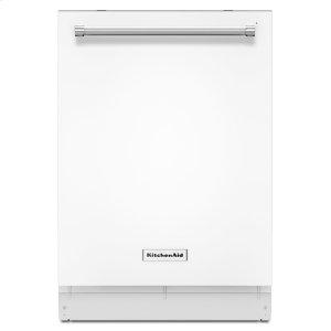 KitchenAid46 DBA Dishwasher with Third Level Rack White