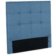 Henley Upholstered Kids Headboard Panel with Button Tufted Design, Denim Blue Finish, Twin Product Image