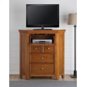 CHERRY OAK CORNER TV CONSOLE Product Image