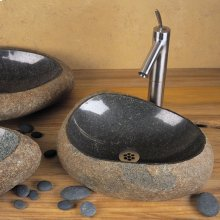 Natural Wabi Sink Natural Boulder / Large