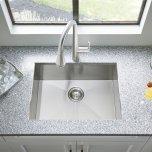 "American StandardEdgewater 25x22"" ADA Single Bowl Stainless Steel Kitchen Sink  American Standard - Stainless Steel"