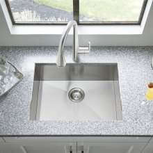 "Edgewater 25x22"" ADA Single Bowl Stainless Steel Kitchen Sink  American Standard - Stainless Steel"