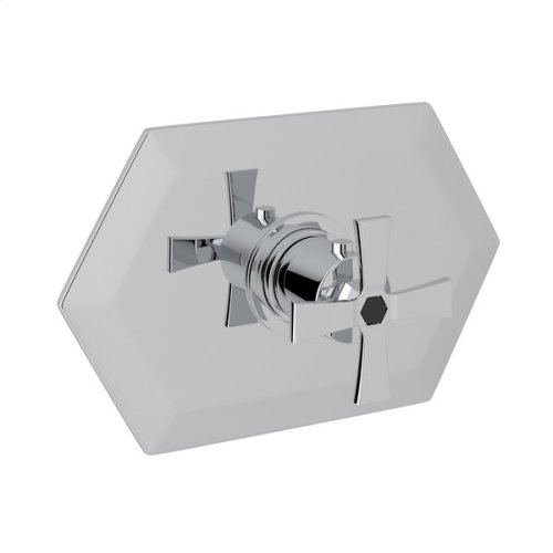 Polished Chrome Bellia Thermostatic Trim Without Volume Control