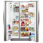 Whirlpool 36-inch Wide Counter Depth Side-by-Side Refrigerator - 21 cu. ft.