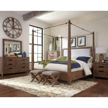 Madeleine Rustic Smoky Acacia California King Four-piece Set