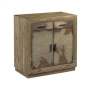 Hidden Treasures Vellum Two Door Cabinet Product Image