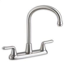 Colony Soft 2-Handle High-Arc Kitchen Faucet  American Standard - Polished Chrome