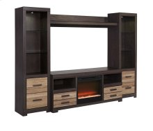 Harlinton - Two-tone 5 Piece Entertainment Set