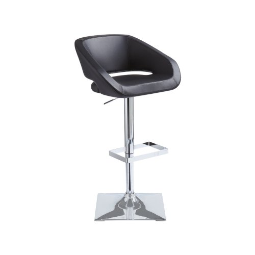 Gustavo Adjustable Stool - Black