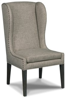 Dining Room Corsica Zuma Linen Arm Dining Chair