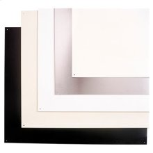 "24"" wide Backsplash in Reversible Stainless Steel"