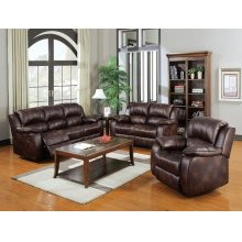 BROWN P-MFB LOVESEAT W/MOTION