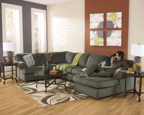 Jessa Place - Pewter 3 Piece Sectional