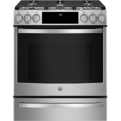 "30"" Smart Slide-In Front-Control Gas Range"