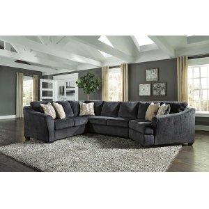 Ashley Furniture Eltmann - Slate 3 Piece Sectional