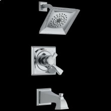 Chrome Monitor ® 17 Series Tub & Shower Trim